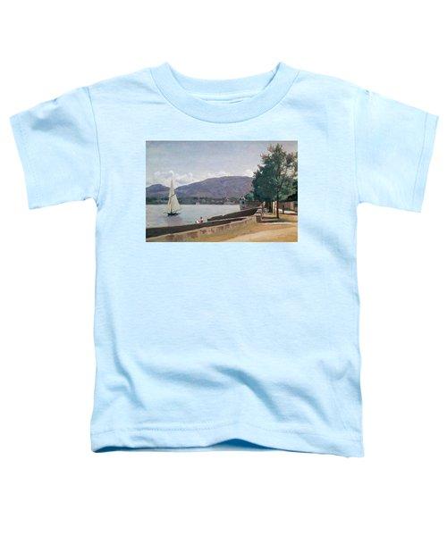 The Quai Des Paquis In Geneva Toddler T-Shirt