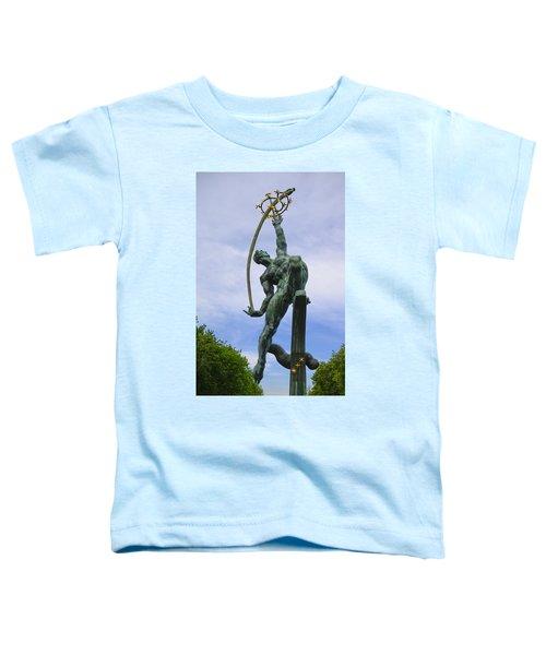The Rocket Thrower Toddler T-Shirt