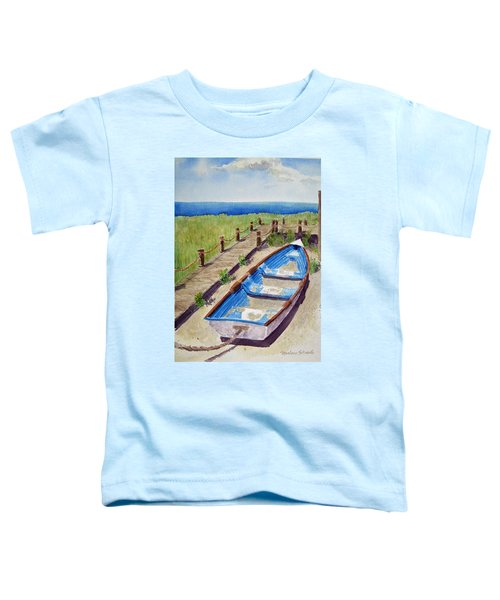 The Sandy Boat Toddler T-Shirt