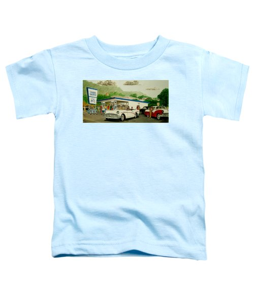 The Shake Shoppe Portsmouth Ohio 1960 Toddler T-Shirt