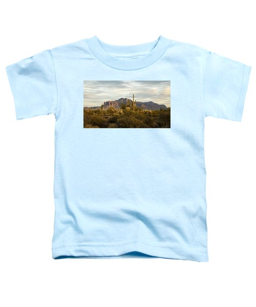 The Superstition Mountains Toddler T-Shirt