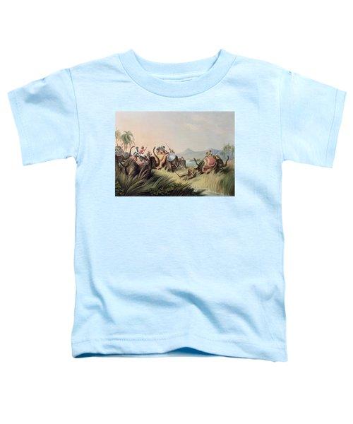 The Tiger At Bay Toddler T-Shirt