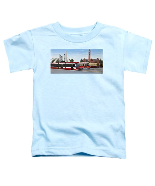 The Toronto Streetcar 100 Years Toddler T-Shirt
