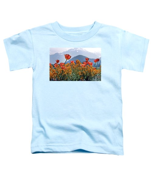 The Tulips In Bloom Toddler T-Shirt