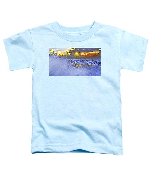 The Wave Which Got Me Toddler T-Shirt by Miroslava Jurcik