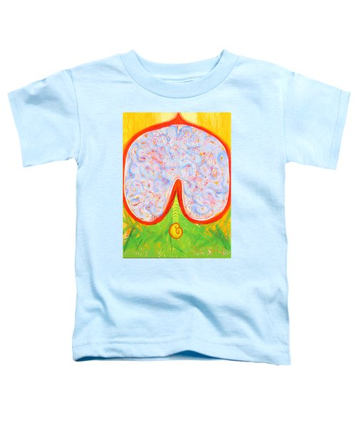 Think With Your Heart Toddler T-Shirt