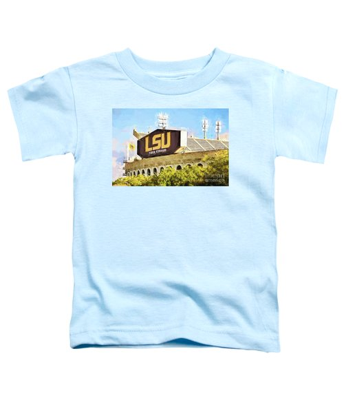 Tiger Stadium - Bw Toddler T-Shirt