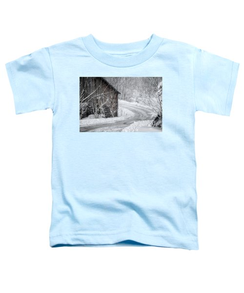 Touched By Snow Toddler T-Shirt