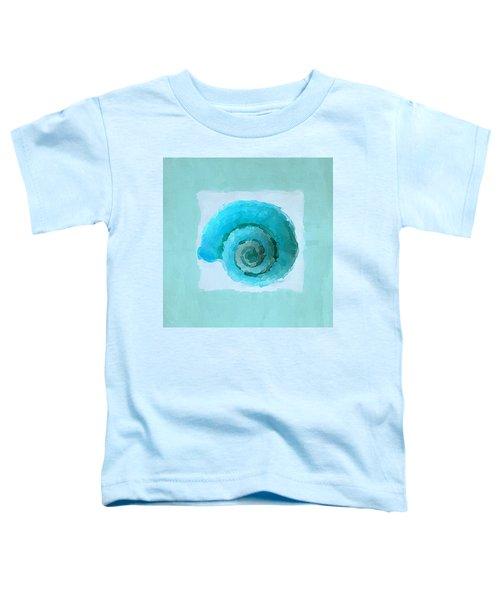 Turquoise Seashells IIi Toddler T-Shirt