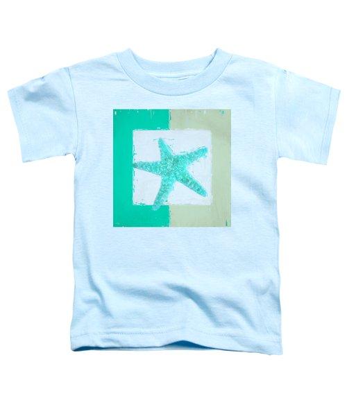 Turquoise Seashells Ix Toddler T-Shirt