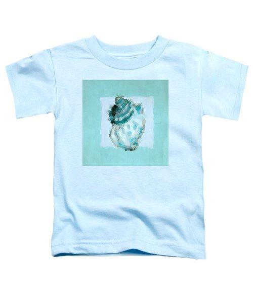Turquoise Seashells Vi Toddler T-Shirt