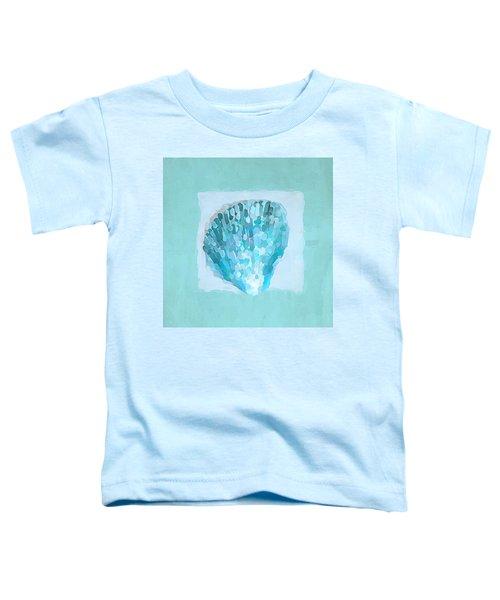 Turquoise Seashells Vii Toddler T-Shirt