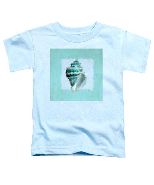 Turquoise Seashells Viii Toddler T-Shirt