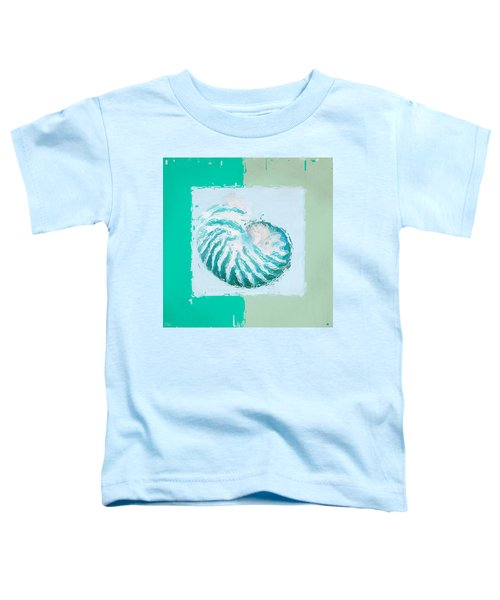 Turquoise Seashells Xii Toddler T-Shirt