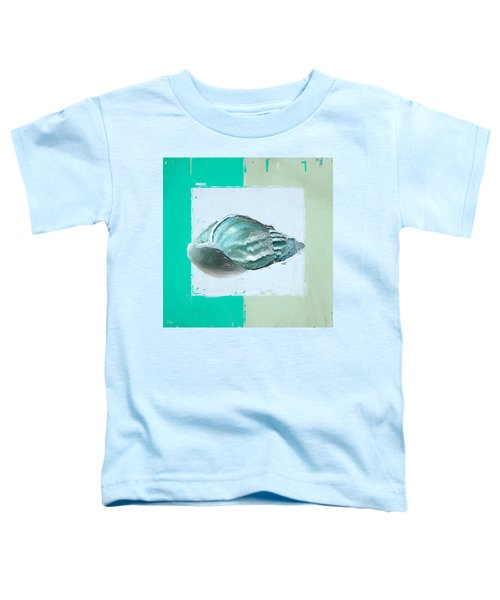 Turquoise Seashells Xiv Toddler T-Shirt