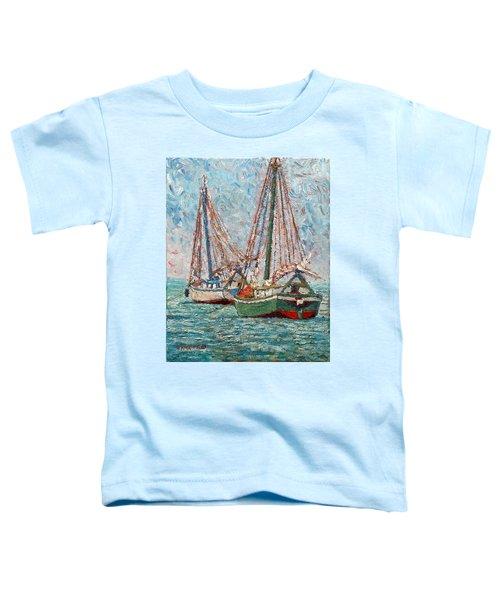 Twin Boats Toddler T-Shirt