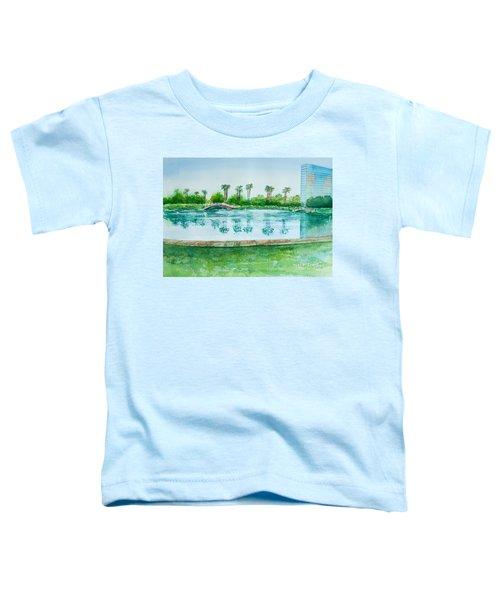 Two Bridges At Rainbow Lagoon Toddler T-Shirt