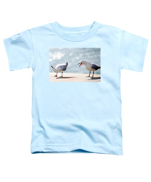 Two Seagulls Toddler T-Shirt