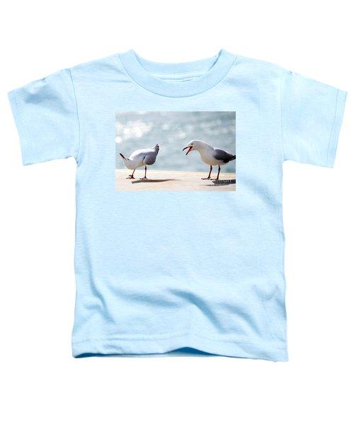 Two Seagulls Toddler T-Shirt