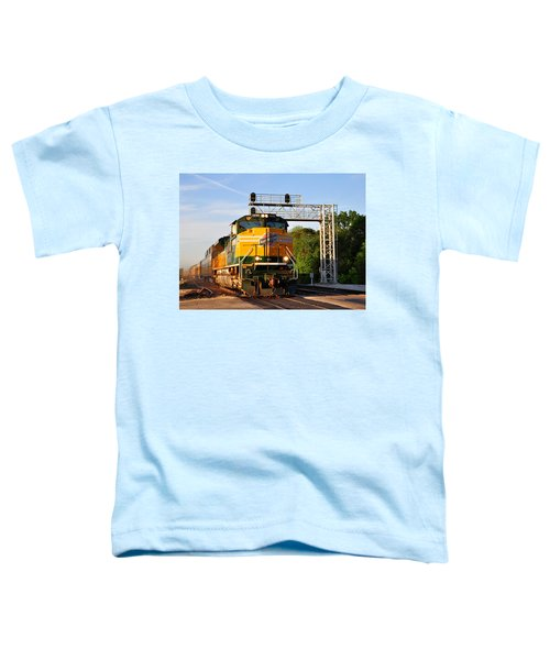 Union Pacific Chicago And North Western Heritage Unit Toddler T-Shirt