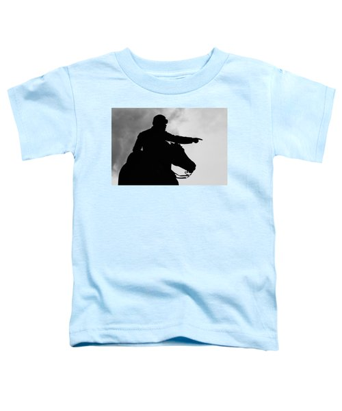 Union Silhouette  Toddler T-Shirt