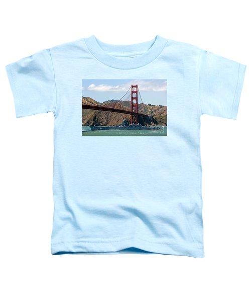 U.s.s. Iowa Up Close Toddler T-Shirt