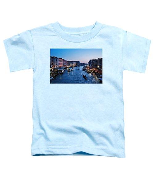 Venezia - Il Gran Canale Toddler T-Shirt