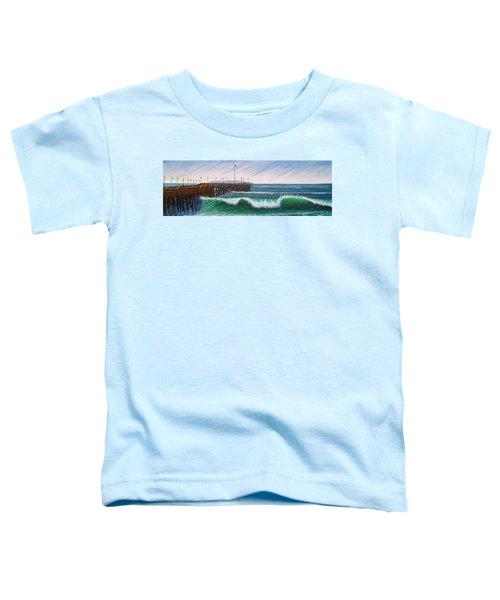 Ventura Pier Toddler T-Shirt