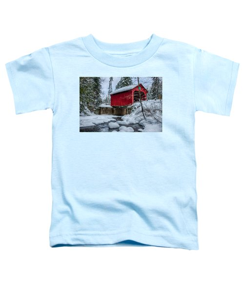 Vermonts Moseley Covered Bridge Toddler T-Shirt