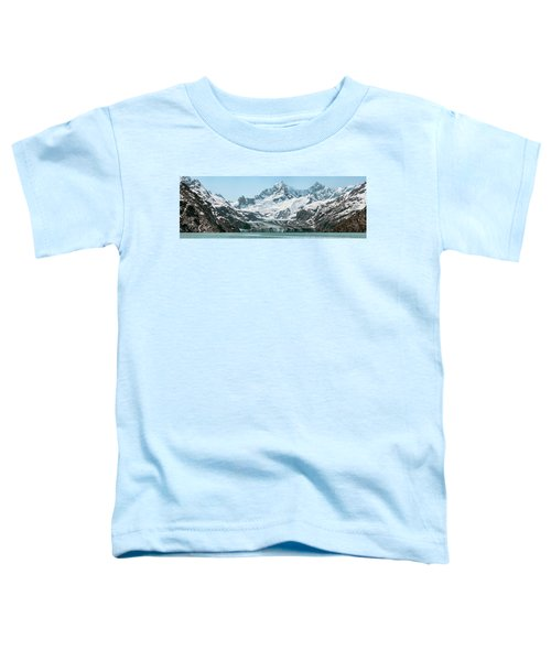 View Of Margerie Glacier In Glacier Bay Toddler T-Shirt