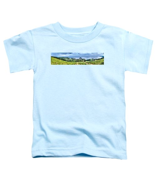 Vineyards By The Sea Toddler T-Shirt