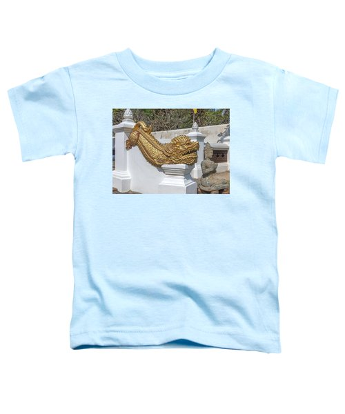 Wat Chedi Liem Phra Ubosot Gate Makara Dthcm0836 Toddler T-Shirt