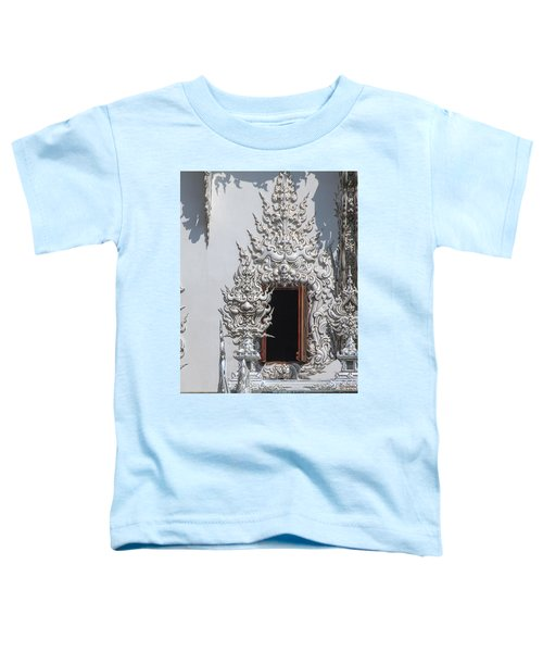 Wat Rong Khun Ubosot Window Dthcr0042 Toddler T-Shirt