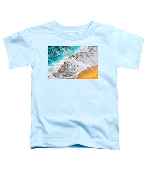 Waves Abstract Toddler T-Shirt