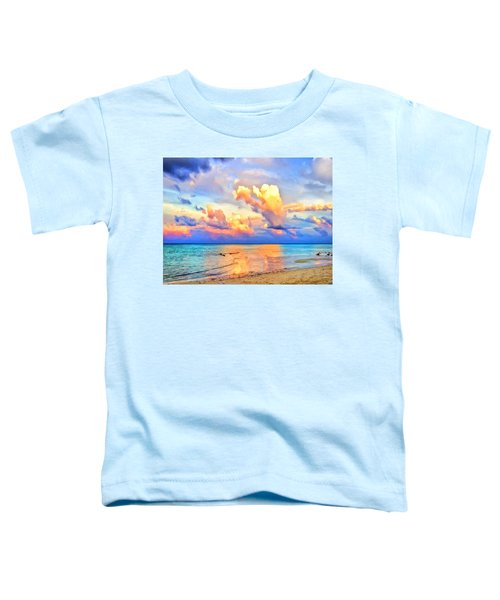 West Maui Sunset Toddler T-Shirt