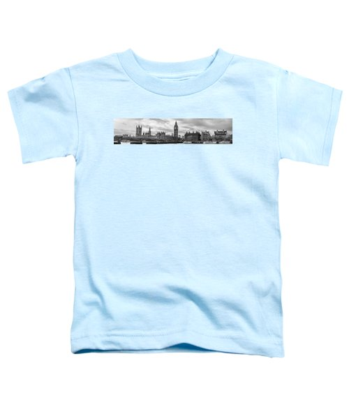 Westminster Panorama Toddler T-Shirt by Heather Applegate