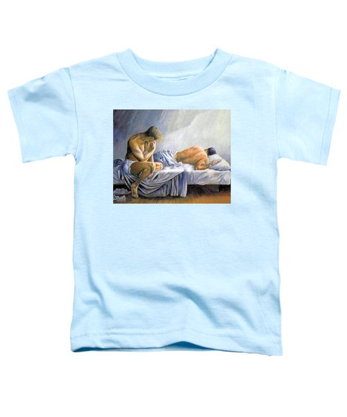 What Is He Dreaming Toddler T-Shirt
