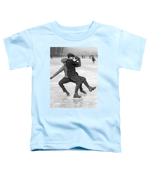 When Ice Skaters Collide Toddler T-Shirt