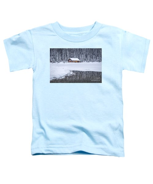 When It Snows Outside Toddler T-Shirt