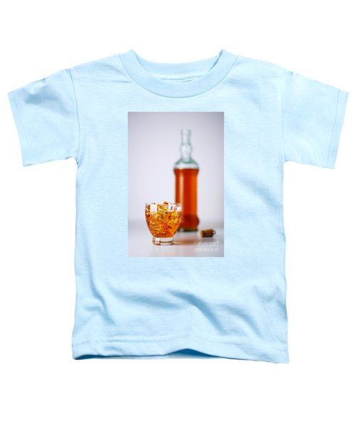 Whiskey Glass Toddler T-Shirt