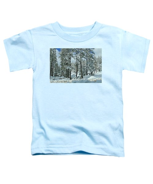 Whispering Snow Toddler T-Shirt