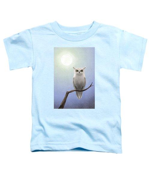 White Owl Toddler T-Shirt