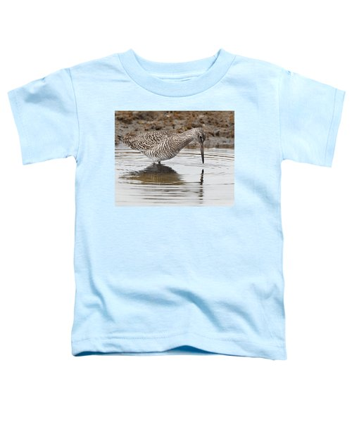 Willet Toddler T-Shirt by Bill Wakeley