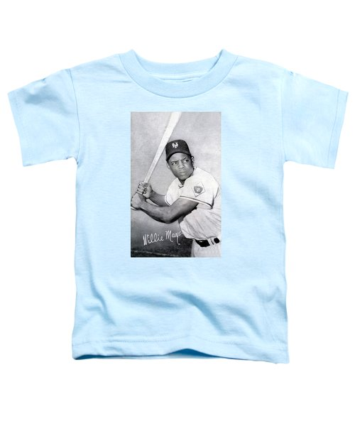 Willie Mays  Poster Toddler T-Shirt