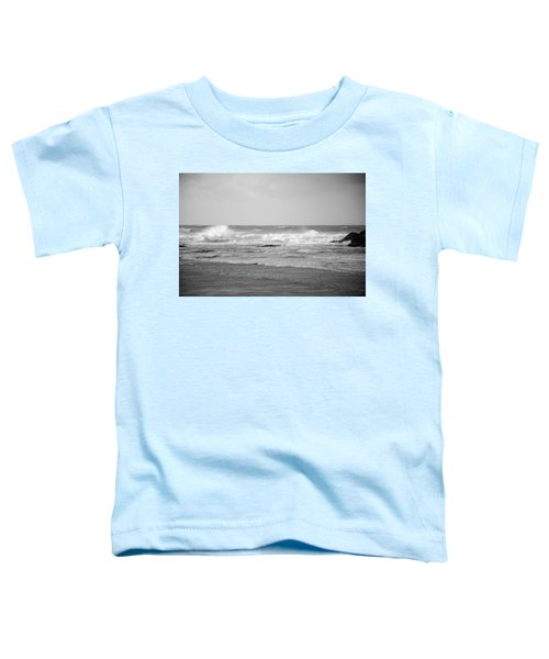 Wind Blown Waves Tofino Toddler T-Shirt
