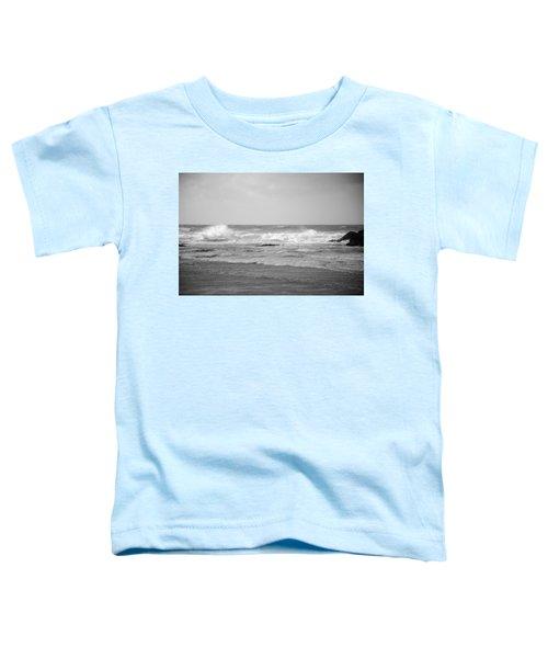 Wind Blown Waves Tofino Toddler T-Shirt