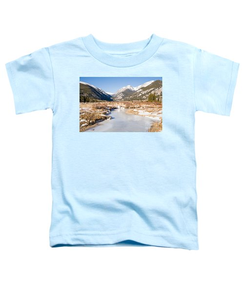 Winter At Horseshoe Park In Rocky Mountain National Park Toddler T-Shirt