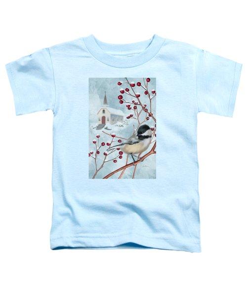 Winter Scene I Toddler T-Shirt