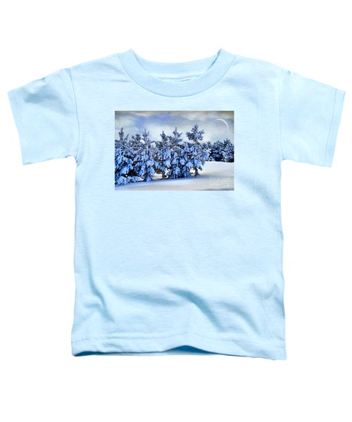 Winter Serenity  Toddler T-Shirt
