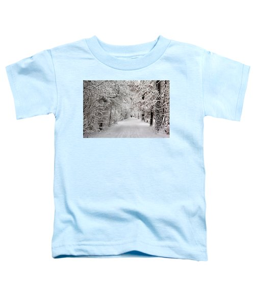 Winter Walk In Fairytale  Toddler T-Shirt